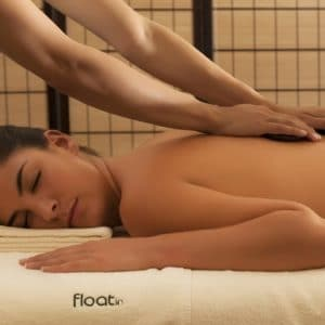 float in spa stones massage 1