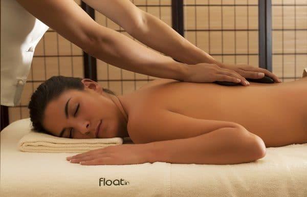 float in spa stones massage 1
