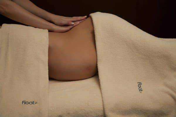 massagem pre mama